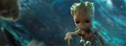Baby Groot Like Facebook!