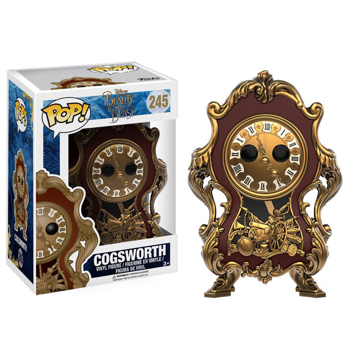 Cogsworth Funko Pop