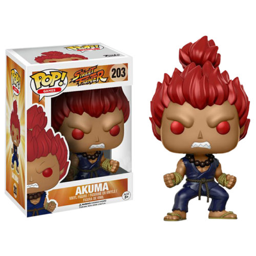 Akuma Exclusive Funko Pop