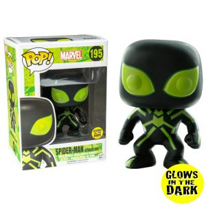 Spiderman Stealth GITD Funko Pop