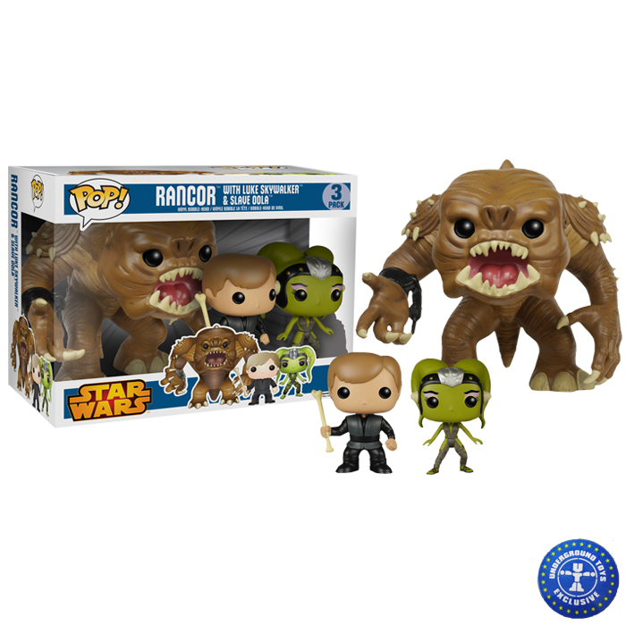 star wars rancor 3pack
