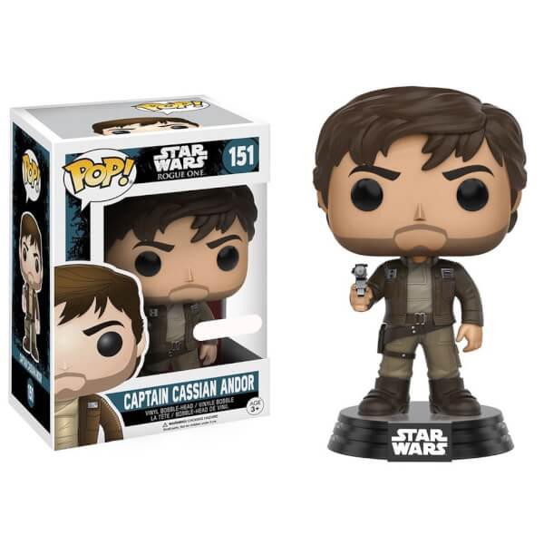 Captain Cassian Andor Exclusive Funko Pop