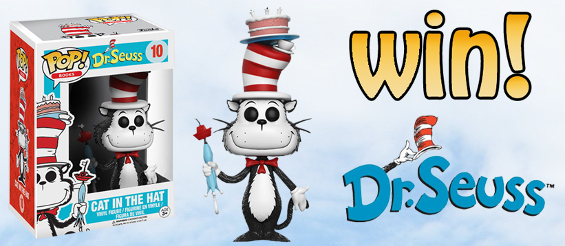 WIN! ? Dr. Seuss Cat in the Hat with Umbrella Exclusive!