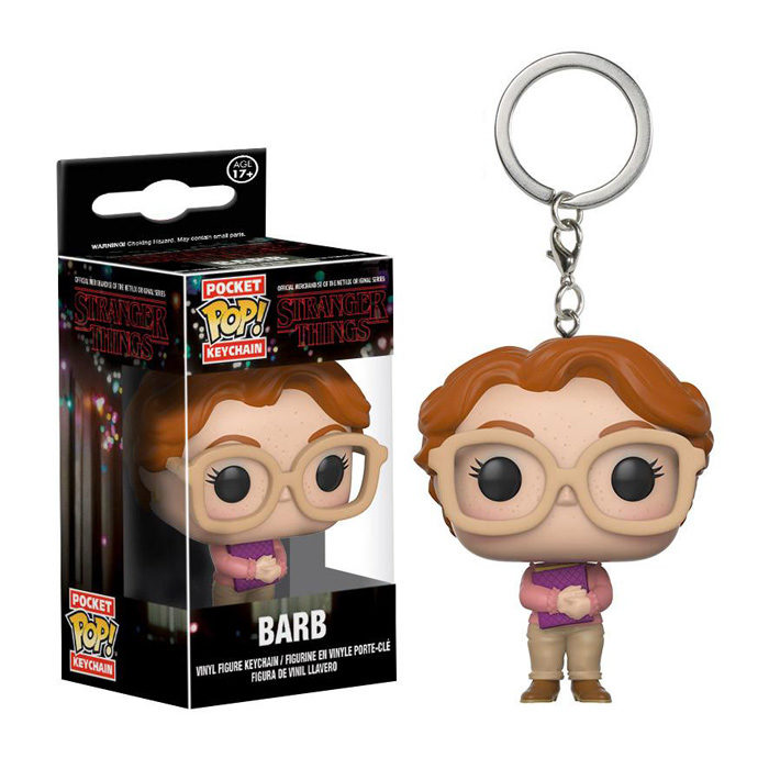 Barb Pocket Pop Keychain