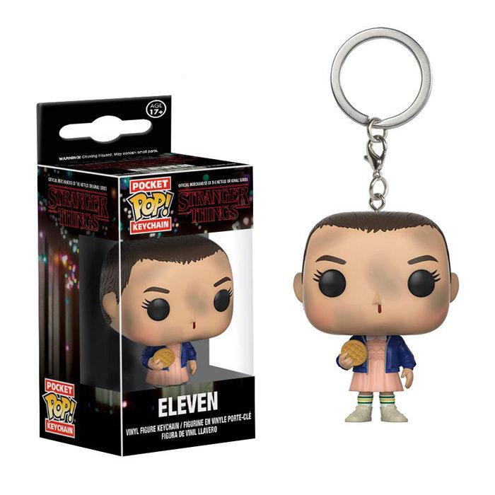 Eleven with eggo Pocket Pop Keychain