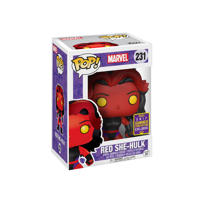 Red She-Hulk SDCC Funko Pop