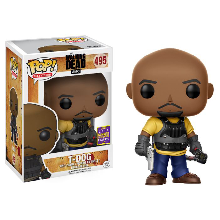 T-Dog SDCC Funko Pop