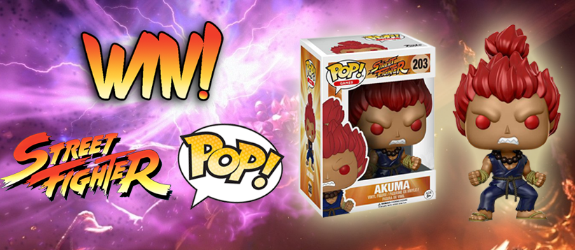 Win Akuma Street Fighter Funko Pop