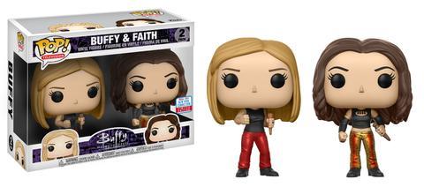 Pop! Television: Buffy the Vampire Slayer – Buffy & Faith 2-pack