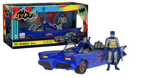 Action Figure: Batman with Batmobile (1250pc LE)