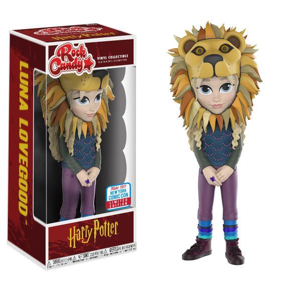 Rock Candy: Luna Lovegood with Lion Head