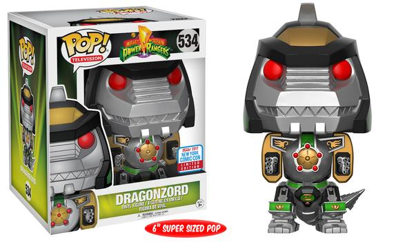 "Pop! TV: Power Rangers – 6"" Green Dragonzord"