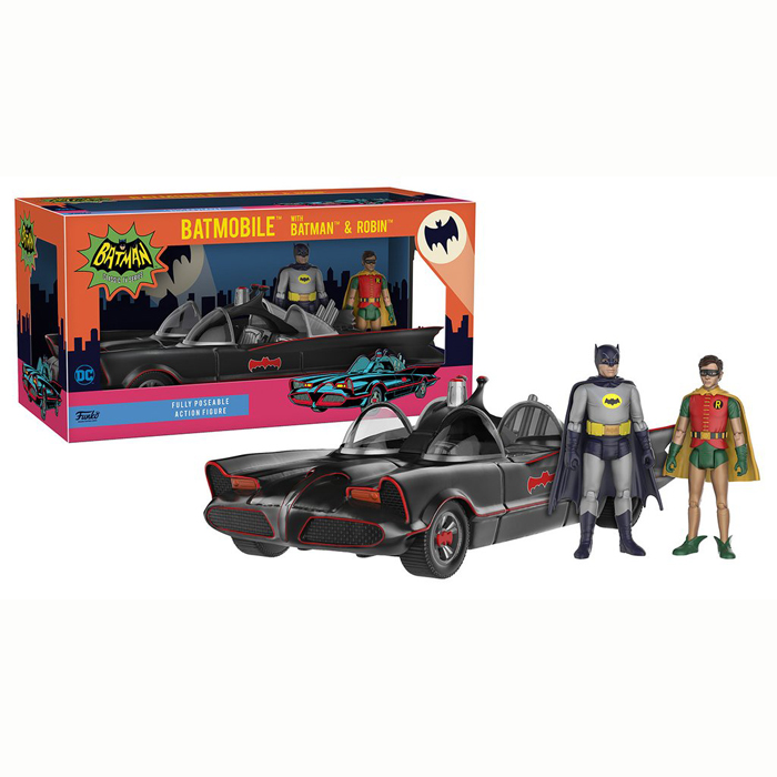 1966 Batmobile Vehicle Action Figure set