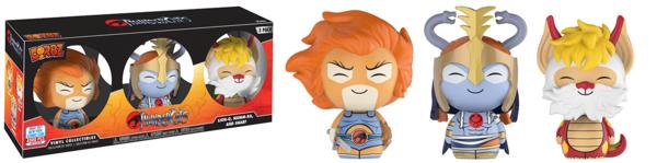 Dorbz: ThunderCats™ – Lion-O, Mumm-Ra, Snarf
