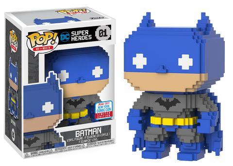 Pop! 8-Bit: Blue & Grey Batman