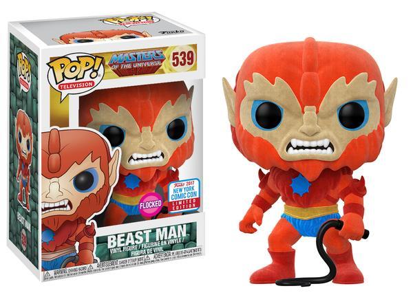 Pop! TV: MOTU – Flocked Beast Man