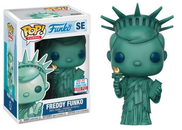 Pop! Funko: New York Freddy Funko (6000pc LE)