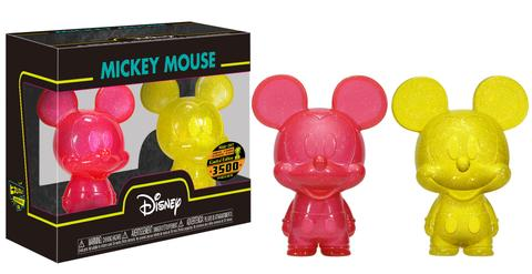 Mini Hikari: Mickey Mouse - Red & Yellow 2-pack (3500pc LE)