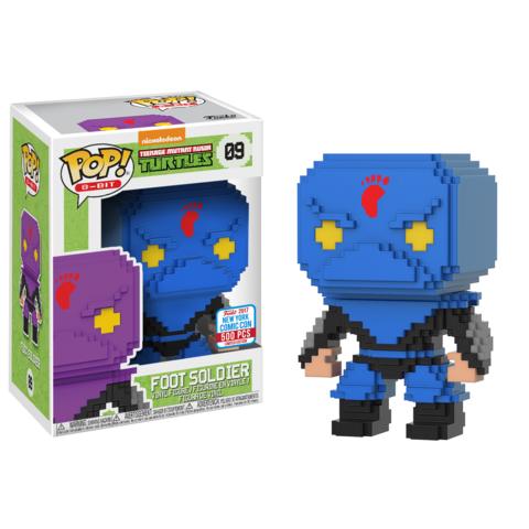 Pop! 8-Bit: TMNT – Blue Foot Soldier (500pc LE)