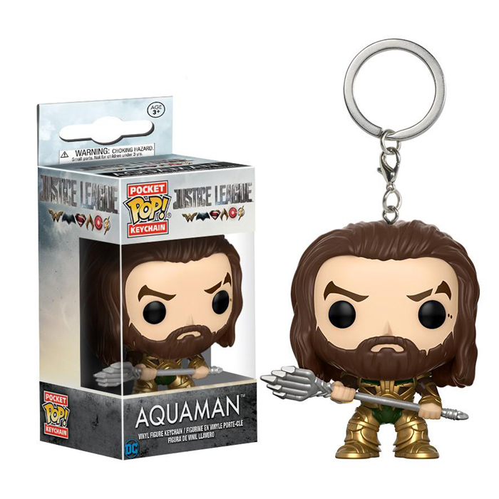 Aquaman Pocket Pop Keychain