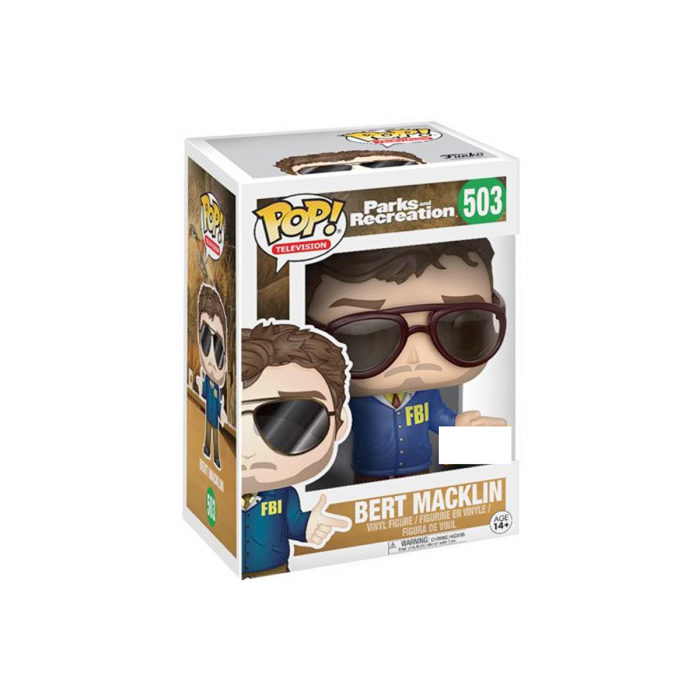 Bert Macklin Funko Pop