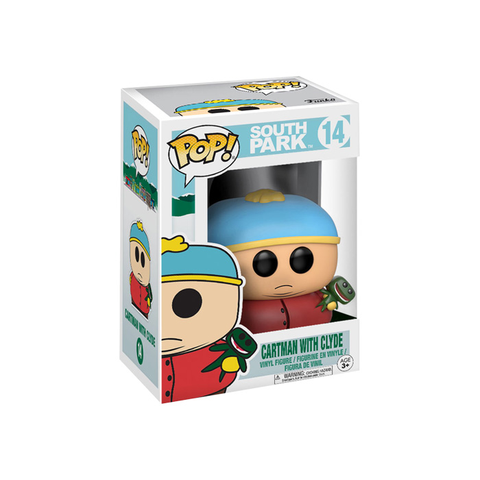 Cartman with Clyde Funko Pop