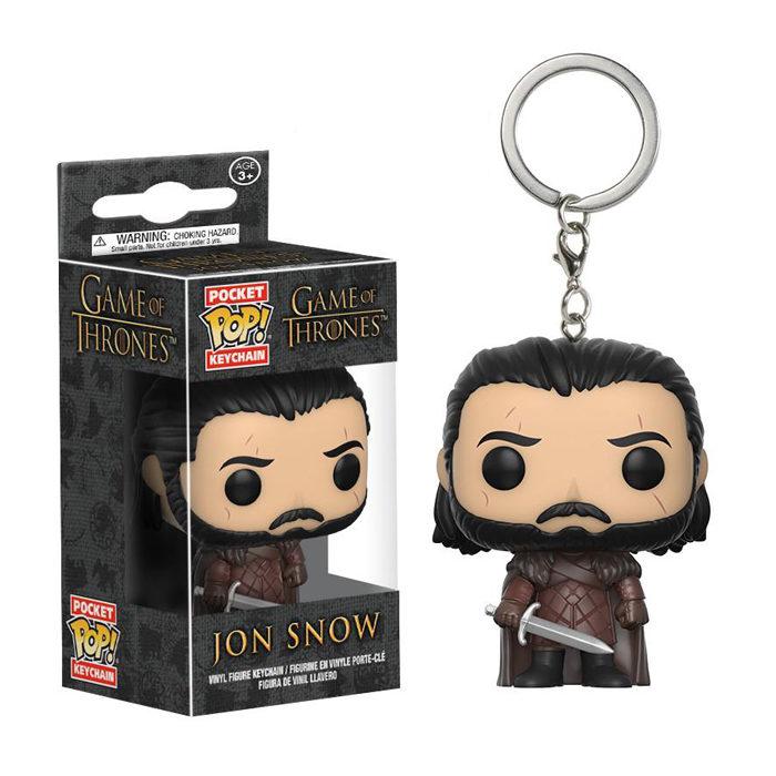 Jon Snow Pocket Pop Kechain