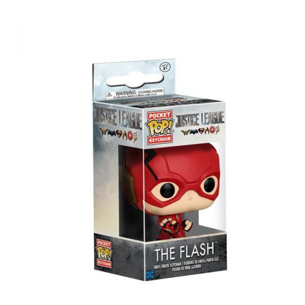 The Flash Pocket Pop Keychain