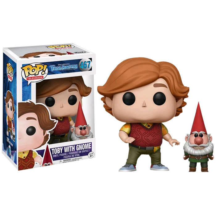 Toby with Gnome Funko Pop