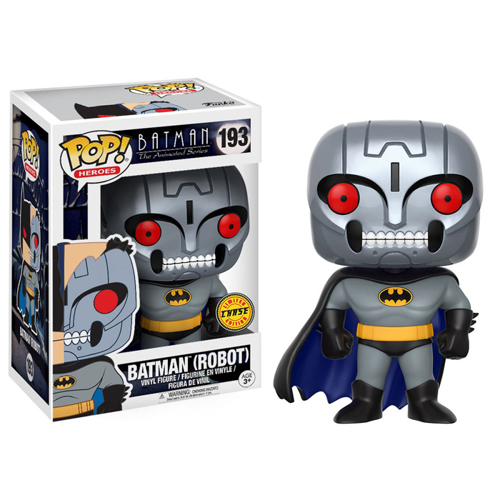 Batman (Robot) Funko Pop