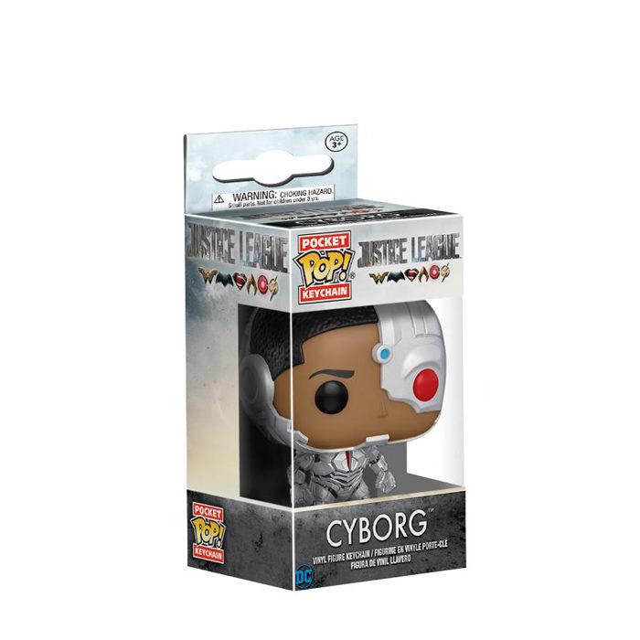Cyborg Pocket Pop Keychain