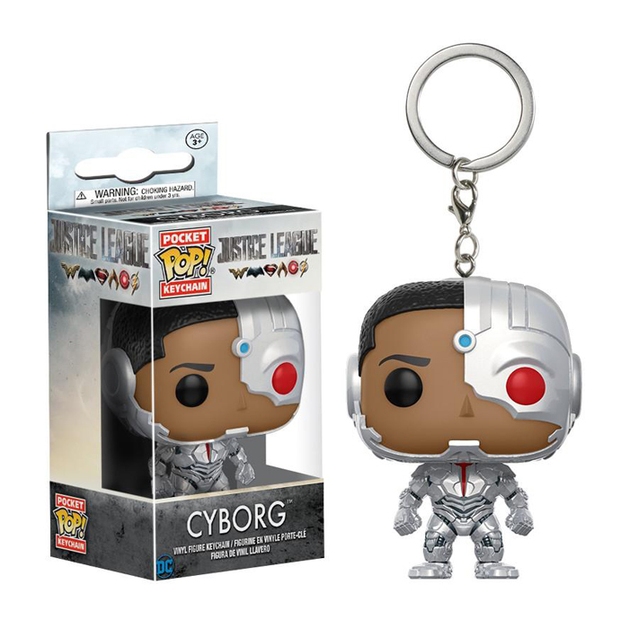 Cyborg Pocket Pop Keychain