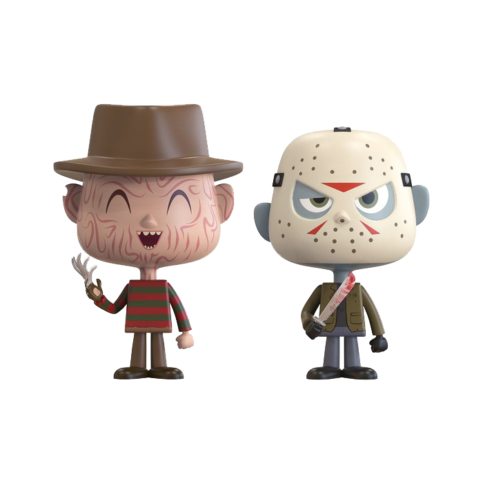 Freddy Jason Vynl 2 pack