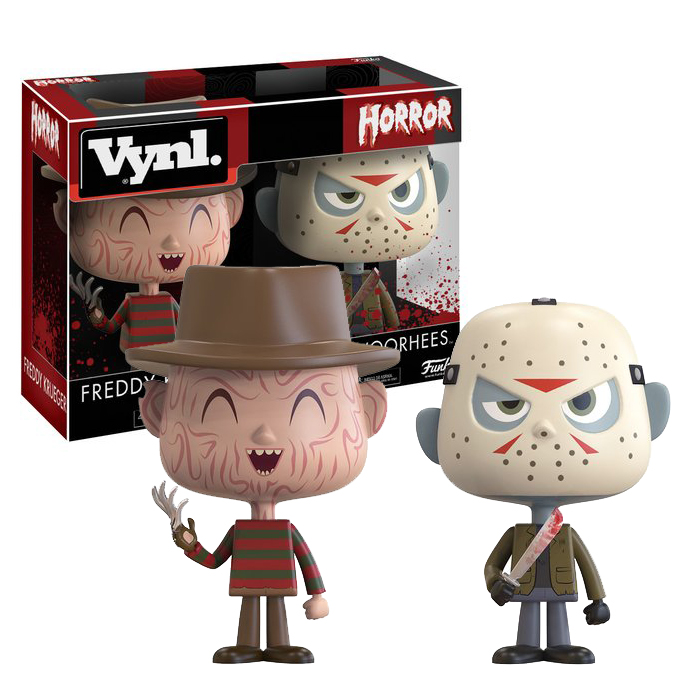 Freddy Jason Vynl 2 pack