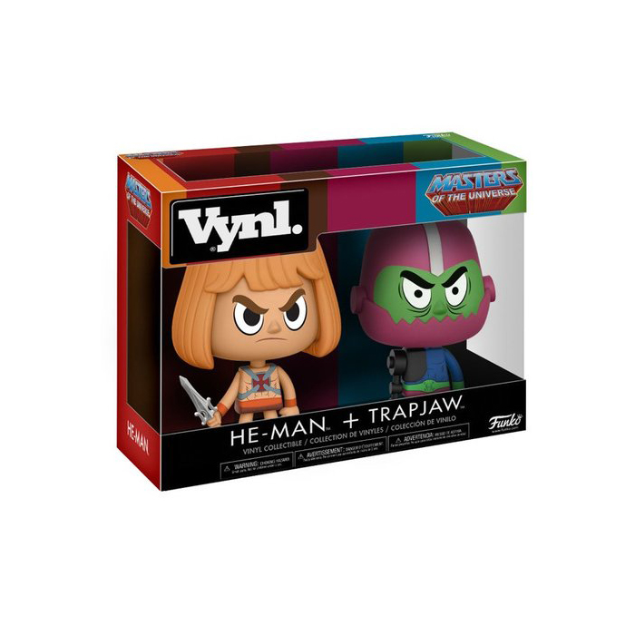 He-man Trap Jaw Vynl 2 pack