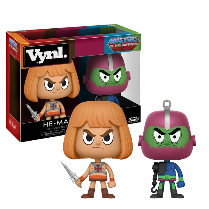 He-man Trap Jaw Vynl 2 pack
