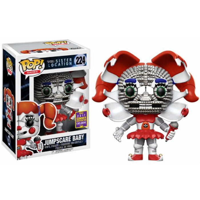Jumpscare Baby SDCC Funko Pop