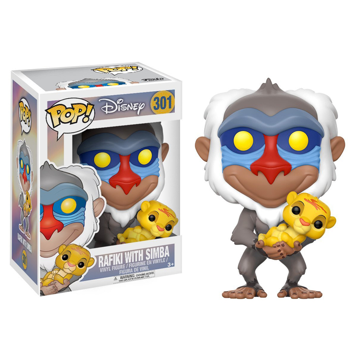Rafiki with Simba Funko Pop