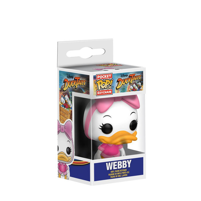 Webby Pocket Pop Keychain