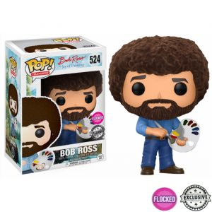 Bob Ross Exclusive Funko Pop
