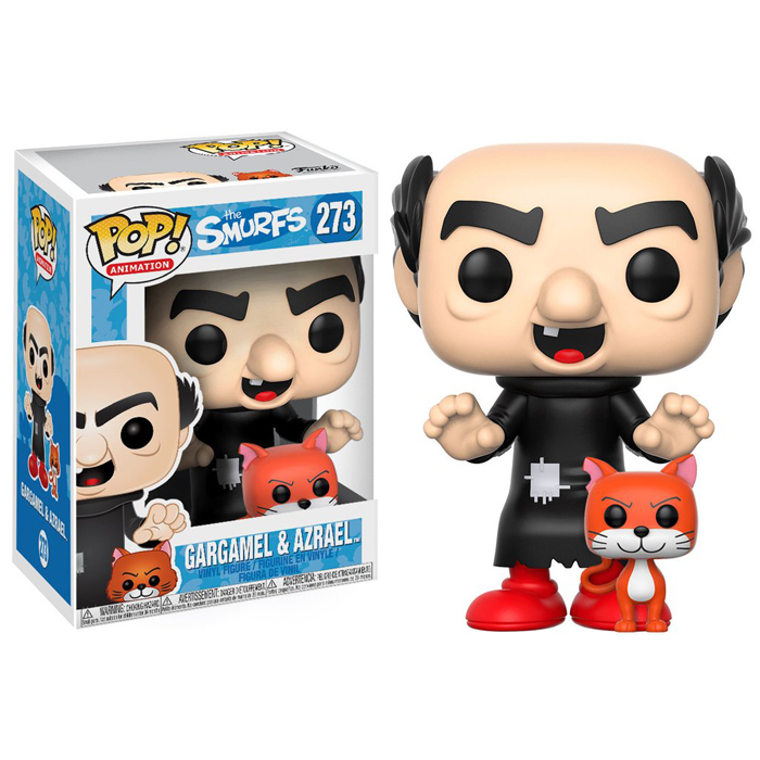 Gargamel with Azrael Funko Pop