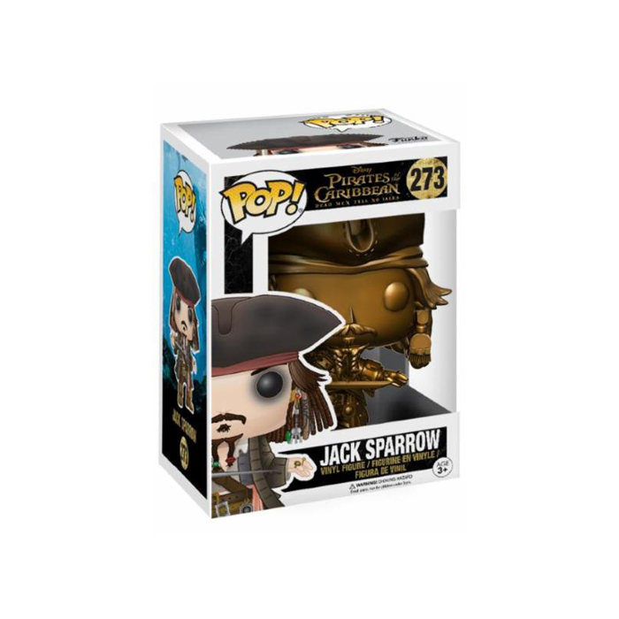 Jack Sparrow Gold Funko Pop