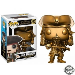 Jack Sparrow Gold Funko Pop