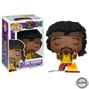 Jimi Hendrix Monterey Funko Pop