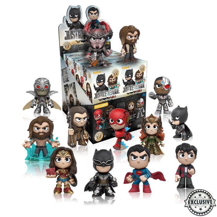 Justice League Mystery Mini Blind Box