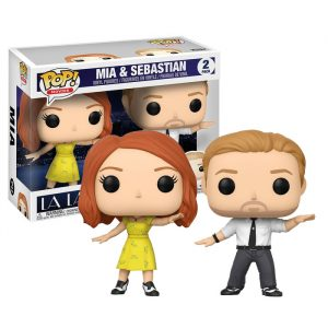 Mia and Sebastian 2 pack Funko Pop