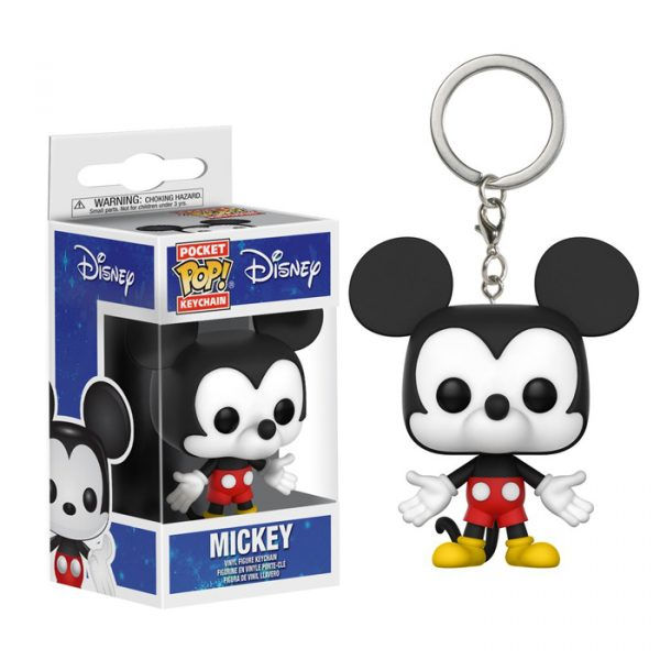Mickey Pocket Pop Keychain