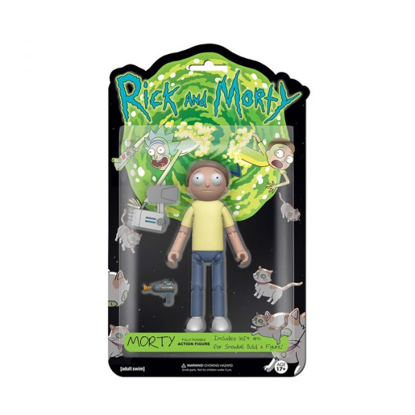 Morty Action Figure