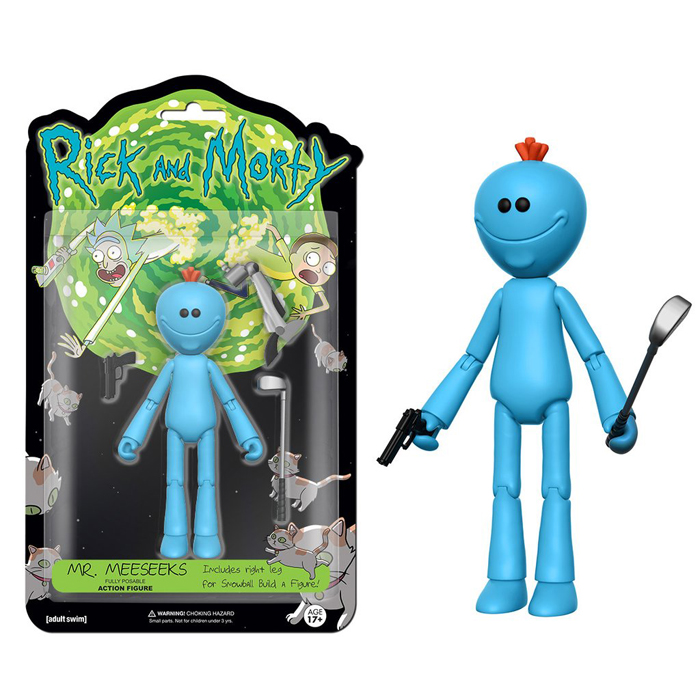 Mr Meeseeks Action Figure