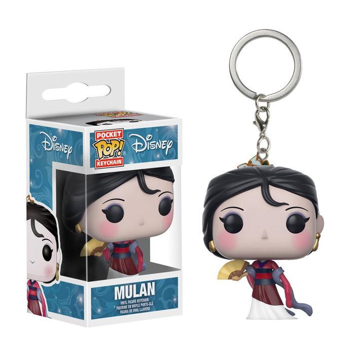 Mulan Pocket Pop Keychain